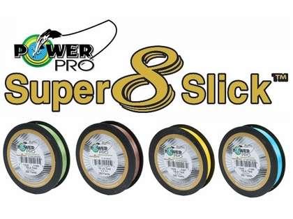PowerPro Super Slick Braided Line 10lb 300yds