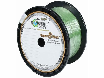 PowerPro Super Slick Braided Line 15lb 1500yds Aqua Green