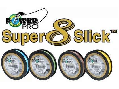 PowerPro Super Slick Braided Line 15lb 300yds
