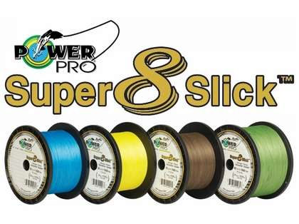 PowerPro Super Slick Braided Line 20lb 150yds