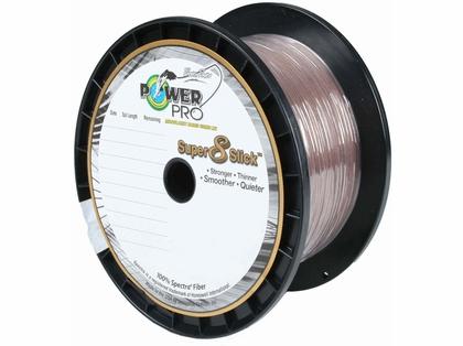 PowerPro Super Slick Braided Line 80lb 1500yds Timber Brown