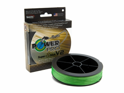 PowerPro Super Slick V2 Braided Line 30lb 1500yds - Aqua Green