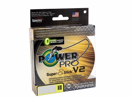 PowerPro Super Slick V2 Braided Line 30lb 1500yds  - Moonshine