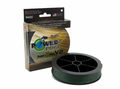 PowerPro Super Slick V2 Braided Line 30lb 1500yds - Moss Green