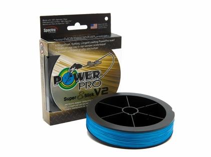 PowerPro Super Slick V2 Braided Line 8lb 150yds  - Blue