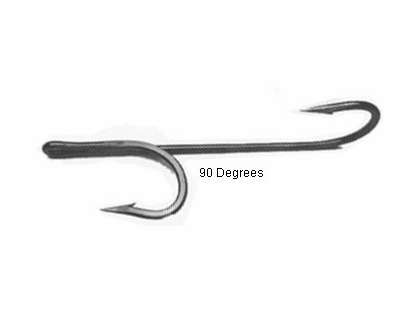 Quick Rig Double Trouble ''90'' Degree Hooks 9/0 Black Nickel