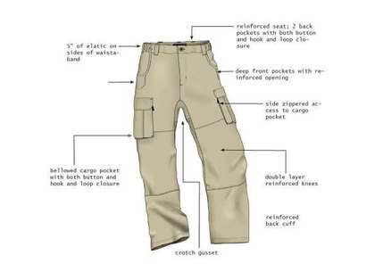 RailRiders Men's Dura-Lite VersaTac-Light Pant