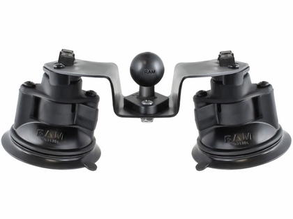 RAM Dual Articulating Suction Cup Base w/ 1