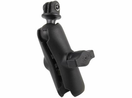 RAM GoPro Hero Adapter with Double Socket Arm