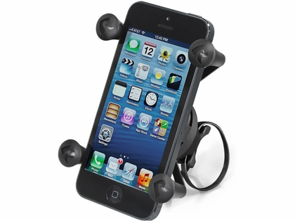 RAM EZ-ON/OFF Bicycle Mount w/ Universal X-Grip Cell Phone Holder