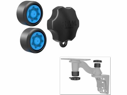 RAM Pin-Lock Security Kit - Fits Single Swing Arm Mount