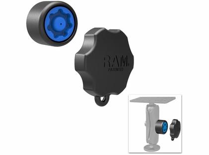 RAM RAP-S-KNOB3U Mixed Combination Pin-Lock Security Knob & Key Knob