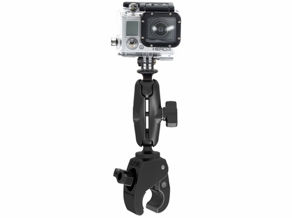 RAM Mounts Small Tough-Claw Mount w/ Action Camera Adapter