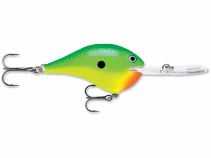 Rapala Dives-To Metal Sure Set Lures CTL Chartreuse Lime