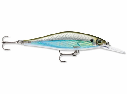 Rapala SDRSD09 Shadow Rap Deep Shad Lure Moss Back Shiner