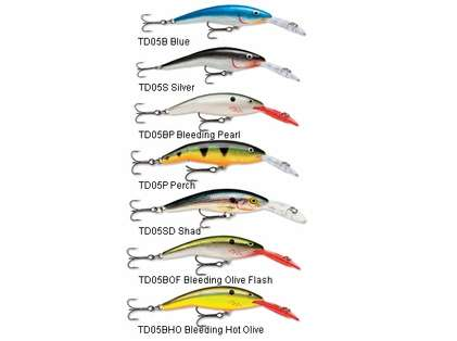Rapala TD05 Tail Dancer Lures