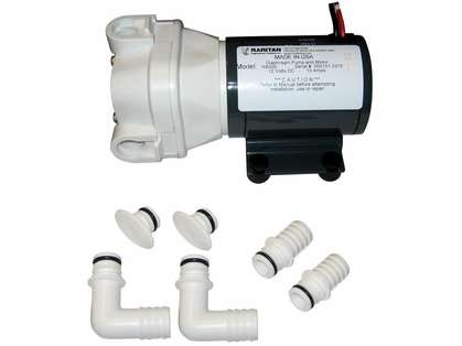 Raritan 166000 Diaphragm Intake Pump - 12VDC