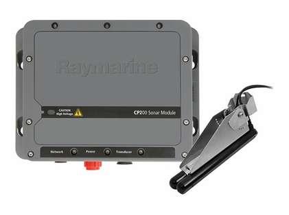 Raymarine E70257 CP200 CHIRP SideVision Trade Sonar Module w/ Ducer