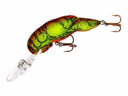 Rebel Deep Wee Crawfish 3//8 oz Fishing Lure Texas Red
