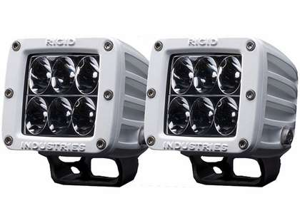 Rigid Industries 70231 Marine D2 Surface Mount Driving LED Pair