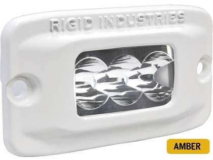 Rigid Industries 97212 Marine SR-M2 Flush Mount Wide Amber