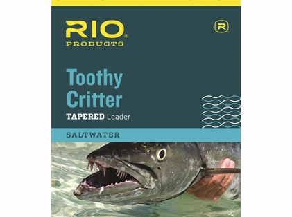 RIO Toothy Critter Tapered Leader (Knot-able Wire)