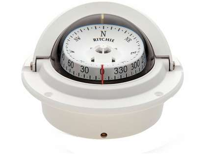 Ritchie F-83W Voyager Flush Mount Compass