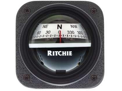 Ritchie V-537W Explorer Bulkhead Mount Compass - White Dial