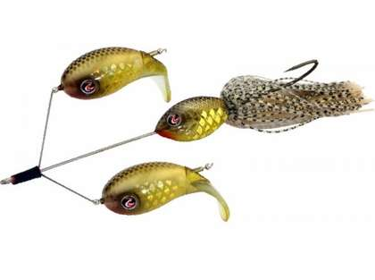 River2Sea Double Plopper Buzzbait Lure - Pac Man