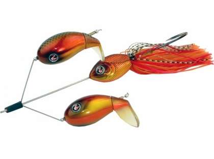 River2Sea Double Plopper Buzzbait Lure - Sunkist