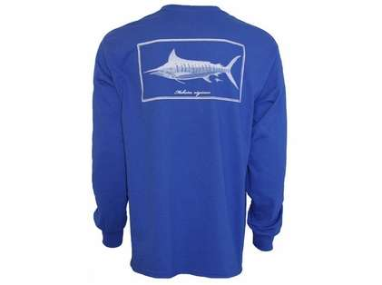 Rogue Offshore Makaira Nigricans Blue Marlin Long Sleeve Shirt