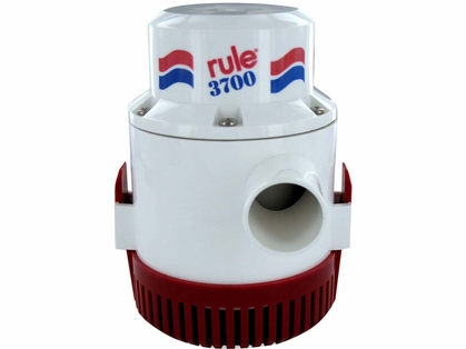 Rule 15A 3700 GPH Non-Automatic Bilge Pump - 32v