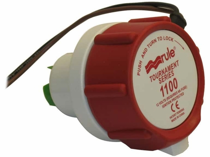 Rule 47DR 1100 Replacement Motor f/ Tournament Series Livewell Pump