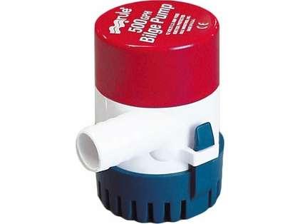 Rule 500 Non-Automatic 12v Electric Submersible Bilge Pump