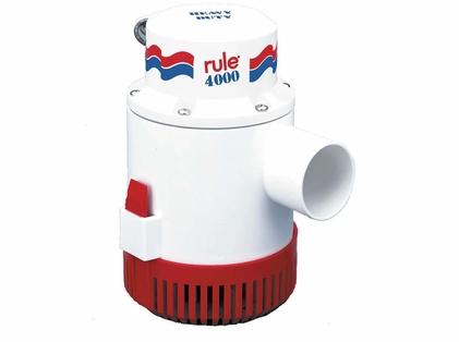 Rule 56D 4000 Non-Automatic Bilge Pump - 12V