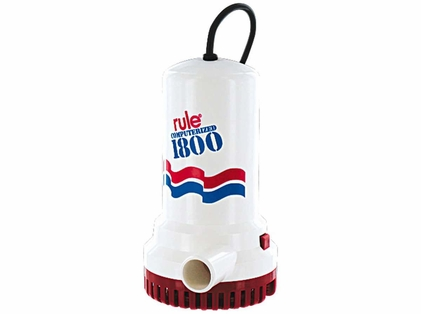 Rule A53D A53D 1800 GPH Non-Automatic 110V Pump