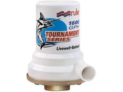 Rule Tournament Series Bronze Base 1600 GPH Livewell Pump