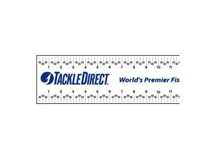 TackleDirect Ruler Sticker