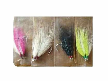 Runoff Bucktail Hooks Pink