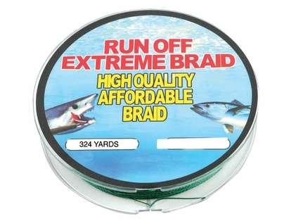 Runoff Lures Extreme Braid Fishing Line 324 Yds
