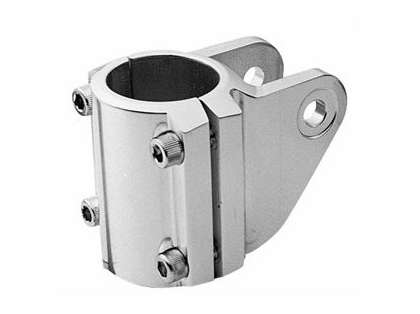Rupp 2'' Clamp-On Pipe Fitting