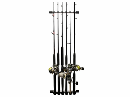 Rush Creek Creations 3-in-1 All Weather 6 Rod Wall/Ceiling Rack
