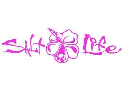 Salt Life Signature Hibiscus Decals