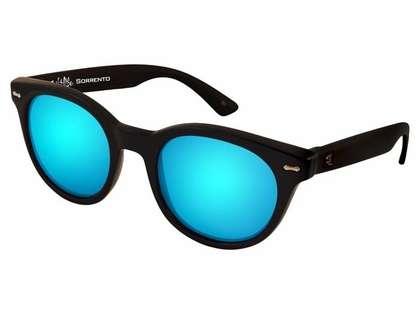 Salt Life Sorrento Sunglasses - Gloss Black/Smoke Blue
