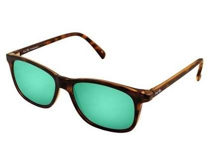 Salt Life Tuscany Sunglasses - Havana Brown Tortoise/Copper Green