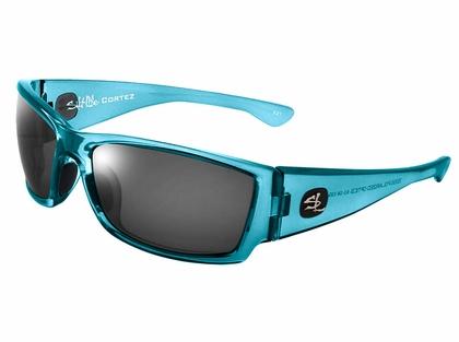 Salt Life Cortez Sunglasses - Aquamarine/Smoke Silver Flash