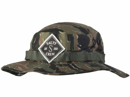 a099a212173 Salty Crew Tippet Patched Bucket Hat