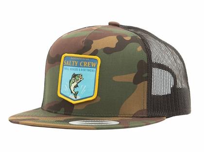 Salty Crew Bass Badge Trucker Hat