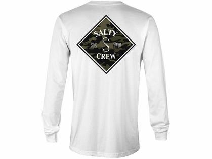 f1c762d5 Salty Crew Tippet Camo Long Sleeve T-Shirt | TackleDirect