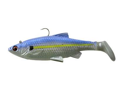 Savage Gear 3D Baitfish Paddletail Lure 3in Blue Steel